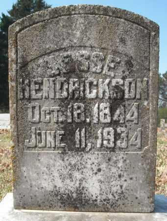 HENDRICKSON, JESSE - Faulkner County, Arkansas | JESSE HENDRICKSON - Arkansas Gravestone Photos