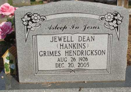 GRIMES, JEWEL DEAN - Faulkner County, Arkansas | JEWEL DEAN GRIMES - Arkansas Gravestone Photos