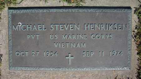 HENRIKSEN (VETERAN VIET), MICHAEL STEVEN - Faulkner County, Arkansas | MICHAEL STEVEN HENRIKSEN (VETERAN VIET) - Arkansas Gravestone Photos