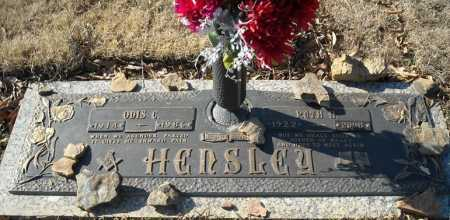 HENSLEY, ODIS C. - Faulkner County, Arkansas | ODIS C. HENSLEY - Arkansas Gravestone Photos