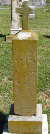 HENZE, A. E. - Faulkner County, Arkansas | A. E. HENZE - Arkansas Gravestone Photos