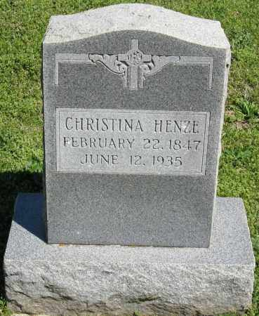 HENZE, CHRISTINA - Faulkner County, Arkansas | CHRISTINA HENZE - Arkansas Gravestone Photos