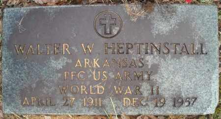 HEPTINSTALL (VETERAN WWII), WALTER W - Faulkner County, Arkansas | WALTER W HEPTINSTALL (VETERAN WWII) - Arkansas Gravestone Photos
