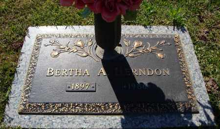 HERNDON, BERTHA A. - Faulkner County, Arkansas | BERTHA A. HERNDON - Arkansas Gravestone Photos