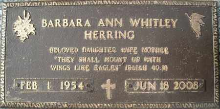 HERRING, BARBARA ANN - Faulkner County, Arkansas | BARBARA ANN HERRING - Arkansas Gravestone Photos