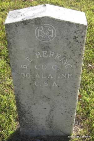 HERRING (VETERAN CSA), BAAYLIS E - Faulkner County, Arkansas | BAAYLIS E HERRING (VETERAN CSA) - Arkansas Gravestone Photos