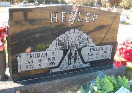 HESLEP, TRUMAN R. - Faulkner County, Arkansas | TRUMAN R. HESLEP - Arkansas Gravestone Photos