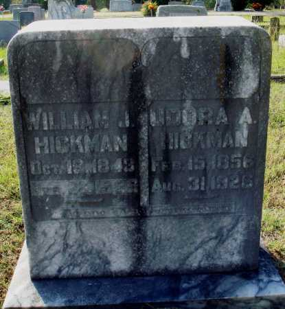 HICKMAN, WILLIAM J. - Faulkner County, Arkansas | WILLIAM J. HICKMAN - Arkansas Gravestone Photos