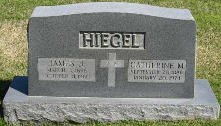 HIEGEL, JAMES J. - Faulkner County, Arkansas | JAMES J. HIEGEL - Arkansas Gravestone Photos