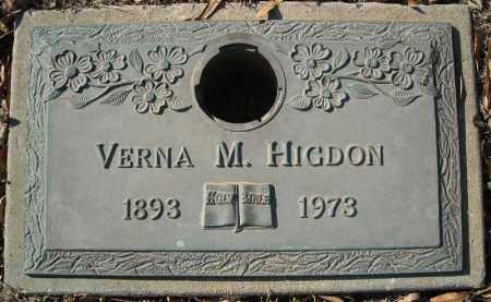 HIGDON, VERNA M. - Faulkner County, Arkansas | VERNA M. HIGDON - Arkansas Gravestone Photos