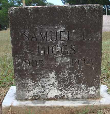 HIGGS, SAMUEL L. - Faulkner County, Arkansas | SAMUEL L. HIGGS - Arkansas Gravestone Photos