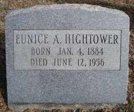 HIGHTOWER, EUNICE A. - Faulkner County, Arkansas | EUNICE A. HIGHTOWER - Arkansas Gravestone Photos