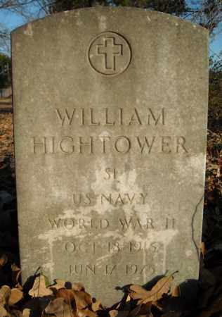 HIGHTOWER (VETERAN WWII), WILLIAM - Faulkner County, Arkansas | WILLIAM HIGHTOWER (VETERAN WWII) - Arkansas Gravestone Photos