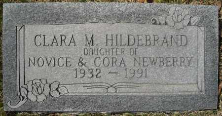 NEWBERRY HILDEBRAND, CLARA M. - Faulkner County, Arkansas | CLARA M. NEWBERRY HILDEBRAND - Arkansas Gravestone Photos