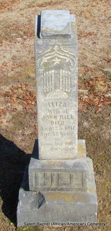 HILL, ELIZA - Faulkner County, Arkansas | ELIZA HILL - Arkansas Gravestone Photos