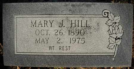 HILL, MARY J. - Faulkner County, Arkansas | MARY J. HILL - Arkansas Gravestone Photos