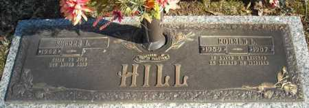 HILL, RONALD L. - Faulkner County, Arkansas | RONALD L. HILL - Arkansas Gravestone Photos