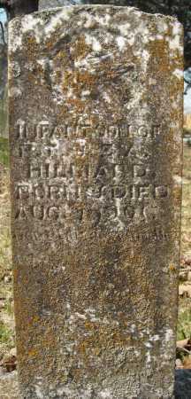 HILLIARD, INFANT SON - Faulkner County, Arkansas | INFANT SON HILLIARD - Arkansas Gravestone Photos