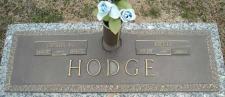 HODGE, FRED - Faulkner County, Arkansas | FRED HODGE - Arkansas Gravestone Photos