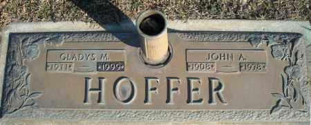 HOFFER, JOHN A. - Faulkner County, Arkansas | JOHN A. HOFFER - Arkansas Gravestone Photos