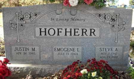 HOFHERR, STEVE A. - Faulkner County, Arkansas | STEVE A. HOFHERR - Arkansas Gravestone Photos