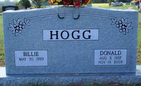HOGG, DONALD - Faulkner County, Arkansas | DONALD HOGG - Arkansas Gravestone Photos