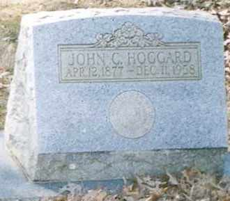 HOGGARD, JOHN C - Faulkner County, Arkansas | JOHN C HOGGARD - Arkansas Gravestone Photos