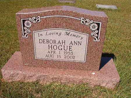 HOGUE, DEBORAH ANN - Faulkner County, Arkansas | DEBORAH ANN HOGUE - Arkansas Gravestone Photos
