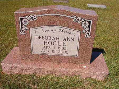 HOGUE, DEBORAH ANN - Faulkner County, Arkansas | DEBORAH ANN HOGUE - Arkansas Gravestone Photos