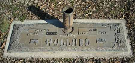 HOLLAND, LOTTIE M. - Faulkner County, Arkansas | LOTTIE M. HOLLAND - Arkansas Gravestone Photos