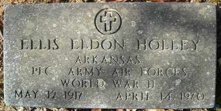 HOLLEY (VETERAN WWII), ELLIS ELDON - Faulkner County, Arkansas | ELLIS ELDON HOLLEY (VETERAN WWII) - Arkansas Gravestone Photos