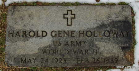 HOLLOWAY  (VETERAN  WWII), HAROLD GENE - Faulkner County, Arkansas | HAROLD GENE HOLLOWAY  (VETERAN  WWII) - Arkansas Gravestone Photos