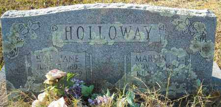 HOLLOWAY, EVIE JANE - Faulkner County, Arkansas | EVIE JANE HOLLOWAY - Arkansas Gravestone Photos