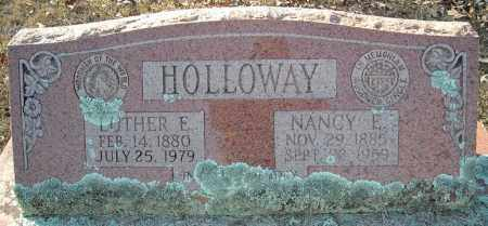 HOLLOWAY, LUTHER E. - Faulkner County, Arkansas | LUTHER E. HOLLOWAY - Arkansas Gravestone Photos