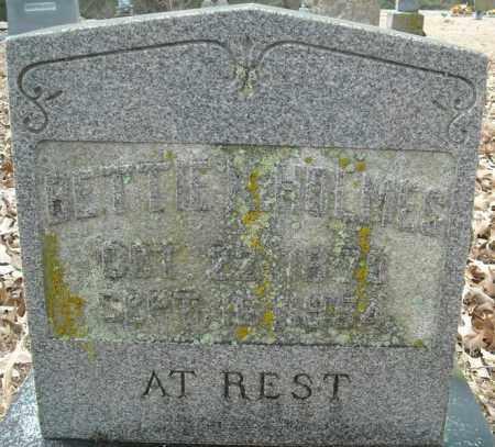 HOLMES, BETTIE K. - Faulkner County, Arkansas | BETTIE K. HOLMES - Arkansas Gravestone Photos