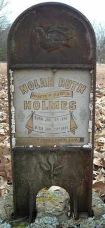 HOLMES, NOLAR RUTH - Faulkner County, Arkansas | NOLAR RUTH HOLMES - Arkansas Gravestone Photos