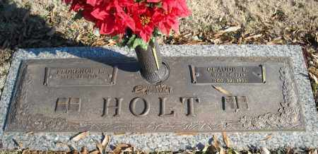 HOLT, CLAUDE L. - Faulkner County, Arkansas | CLAUDE L. HOLT - Arkansas Gravestone Photos
