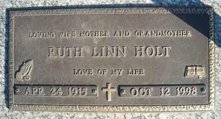 HOLT, RUTH - Faulkner County, Arkansas | RUTH HOLT - Arkansas Gravestone Photos