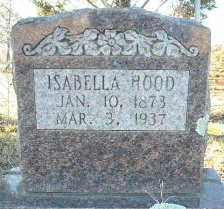 HOOD, ISABELLA - Faulkner County, Arkansas | ISABELLA HOOD - Arkansas Gravestone Photos