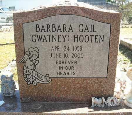 HOOTEN, BARBARA GAIL - Faulkner County, Arkansas | BARBARA GAIL HOOTEN - Arkansas Gravestone Photos
