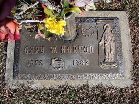 HORTON, GARY W. - Faulkner County, Arkansas | GARY W. HORTON - Arkansas Gravestone Photos