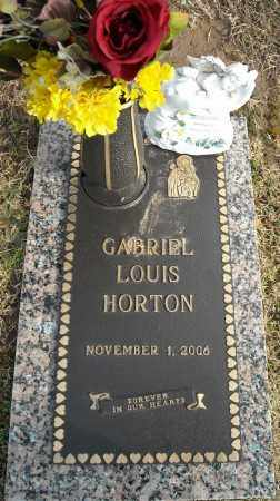 HORTON, GABRIEL LOUIS - Faulkner County, Arkansas | GABRIEL LOUIS HORTON - Arkansas Gravestone Photos