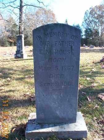 HOUSE, EDGAR MONROE - Faulkner County, Arkansas   EDGAR MONROE HOUSE - Arkansas Gravestone Photos