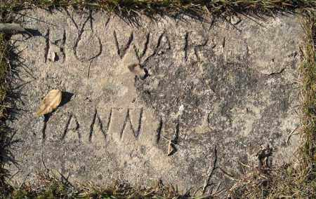 HOWARD, FANNIE - Faulkner County, Arkansas | FANNIE HOWARD - Arkansas Gravestone Photos