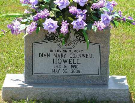 HOWELL, DIAN MARY - Faulkner County, Arkansas | DIAN MARY HOWELL - Arkansas Gravestone Photos