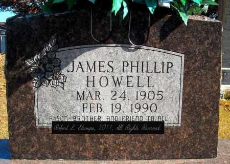 HOWELL, JAMES PHILLIP - Faulkner County, Arkansas | JAMES PHILLIP HOWELL - Arkansas Gravestone Photos