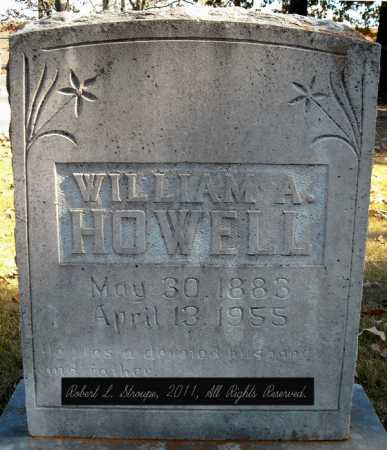 HOWELL, WILLIAM A. - Faulkner County, Arkansas | WILLIAM A. HOWELL - Arkansas Gravestone Photos