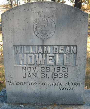 HOWELL, WILLIAM DEAN - Faulkner County, Arkansas | WILLIAM DEAN HOWELL - Arkansas Gravestone Photos