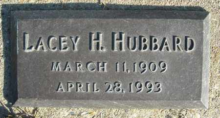 HUBBARD, LACY H. - Faulkner County, Arkansas | LACY H. HUBBARD - Arkansas Gravestone Photos