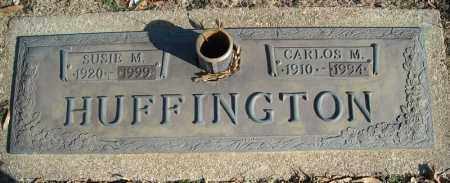 HUFFINGTON, CARLOS M. - Faulkner County, Arkansas | CARLOS M. HUFFINGTON - Arkansas Gravestone Photos